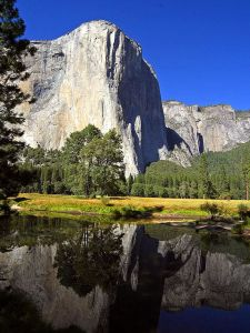 Picture courtesy of public domain picture El capitan in Yosemite by Jon Sullivan
