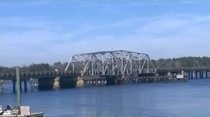 Bridge over the Wando River.