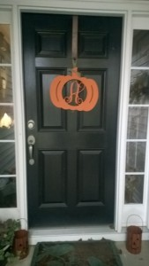 My Front Door. Welcome!